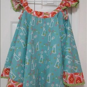 Jelly the Pug Bunny Hop Swirl Dress Sz 14 NWT